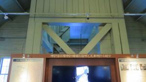 時計台内の時計塔