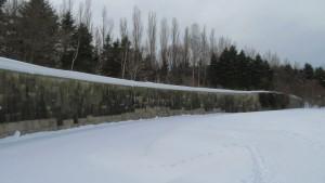 雪の中の璧泉