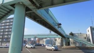 美園横断歩道橋