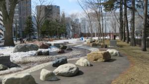 遊水路(永山記念公園)