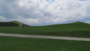 モエレ山とプレイマウンテン
