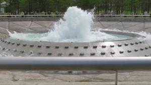 「海の噴水」のビッグウェーブ