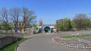 JR星置駅と南口駅前広場