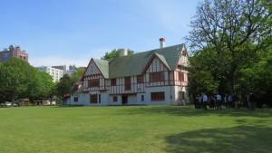 知事公館と前庭