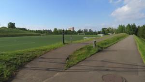 人工芝サッカー練習場