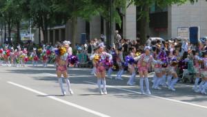 大通南北パレード会場