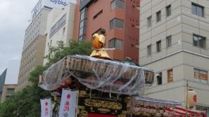 豊水祭典区の山車人形(素盞鳴尊)