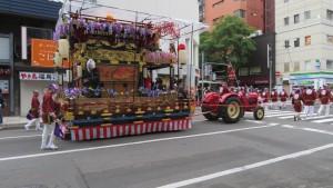 琴似祭典区の山車