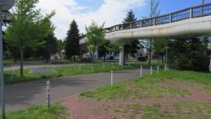 あいの里学園歩道橋
