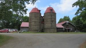 札幌景観資産「資料館(旧畜舎とサイロ)」