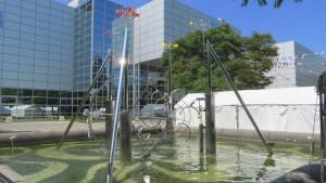 水のモニュメント(科学館公園)