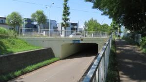 札幌恵庭自転車道と厚別中央通トンネル
