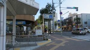 地下鉄平岸駅
