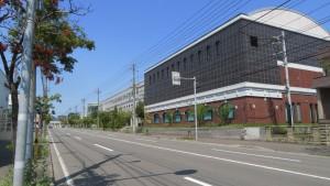 山の手通と札幌看護学校