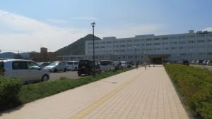 北海道医療センターと三角山