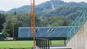 円山球場と大倉山ジャンプ競技場