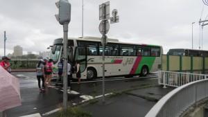 ランナー移動バス
