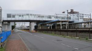 自由通路とJR厚別駅