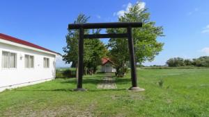 福移神社と鳥居