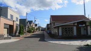 里塚緑ヶ丘の美しい街並み