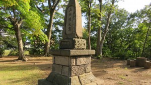 上相撲記念碑
