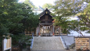 厚別神社社殿