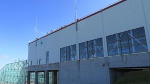 ゴンドラ降り場とパノラマ展望台