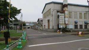JR北海道苗穂工場の構内