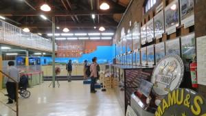 北海道鉄道技術館内の展示物