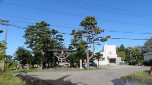 十軒神社(十軒神明宮)と十軒会館