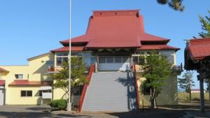 教願寺の本堂