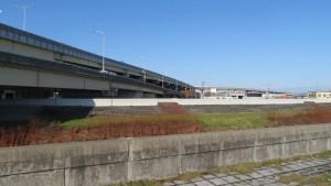 望月寒川から札幌ジャンクション(JCT)を望む