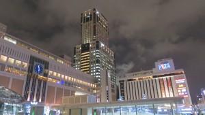 JRタワーと札幌エスタ