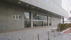 中央体育館入口