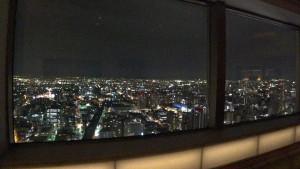 JRタワー展望室から見る夜景(東)