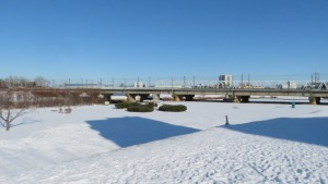 JR豊平川橋梁