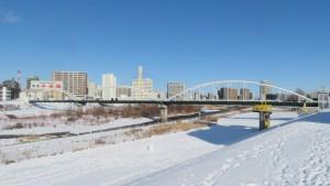 豊平川第1水管橋