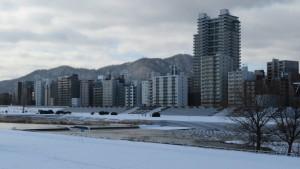 高層マンション「ザ・タワー中島公園ラピスライオンズスクエア」