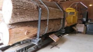 森林鉄道運材貨車
