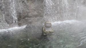 かっぱ像「湯の滝のかっぱ」