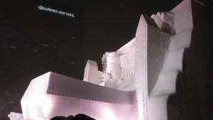 8丁目 大雪像「ウポポイ(民族共生象徴空間)2020.4.24OPEN」