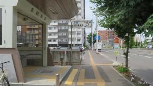 地下鉄北13条東駅