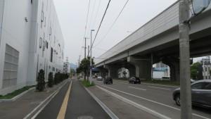 札幌新道と札樽道高架