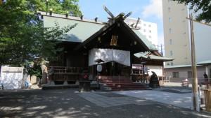 北海道神宮頓宮 社殿