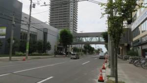 コルテナⅡと空中歩廊と「プレミスト琴似スカイクロスタワー」