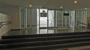 コルテナⅡからコルテナⅠへ向かう空中歩廊