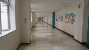 コルテナⅠ館内の空中歩廊