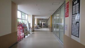 イトーヨーカドー琴似店の空中歩廊