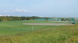 雁来河川健康公園野球場