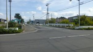 市道8線幹道線・市道10号幹道線交差点